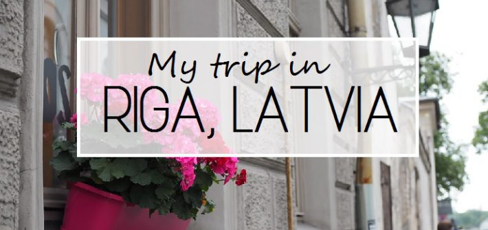 my trip in riga latvia
