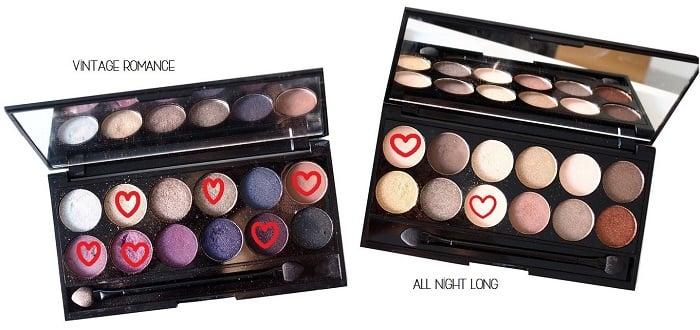 sleek makeup i divine palettes