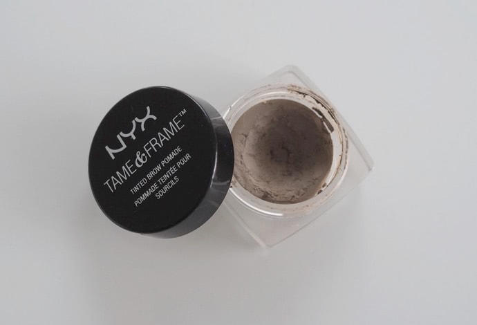 nyx tame frame brow pomade blonde
