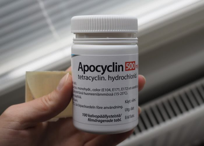 Apocyclin acne