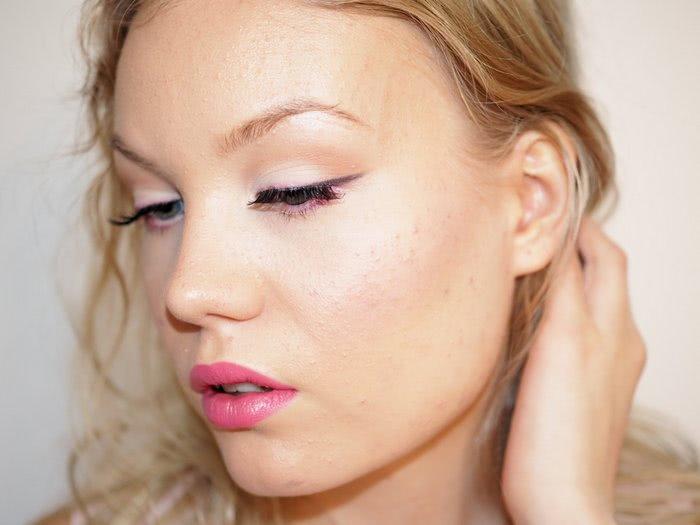 pink makeup tutorial milani nyx