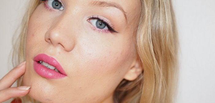 affordable pink makeup tutorial