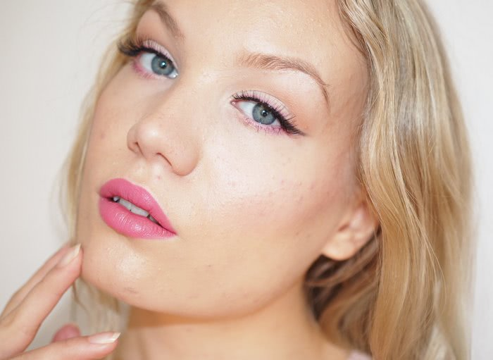 fresh pink makeup tutorial