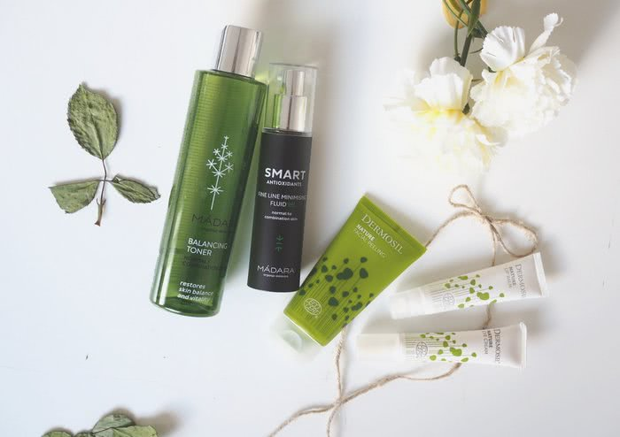 madara and dermosil skincare products