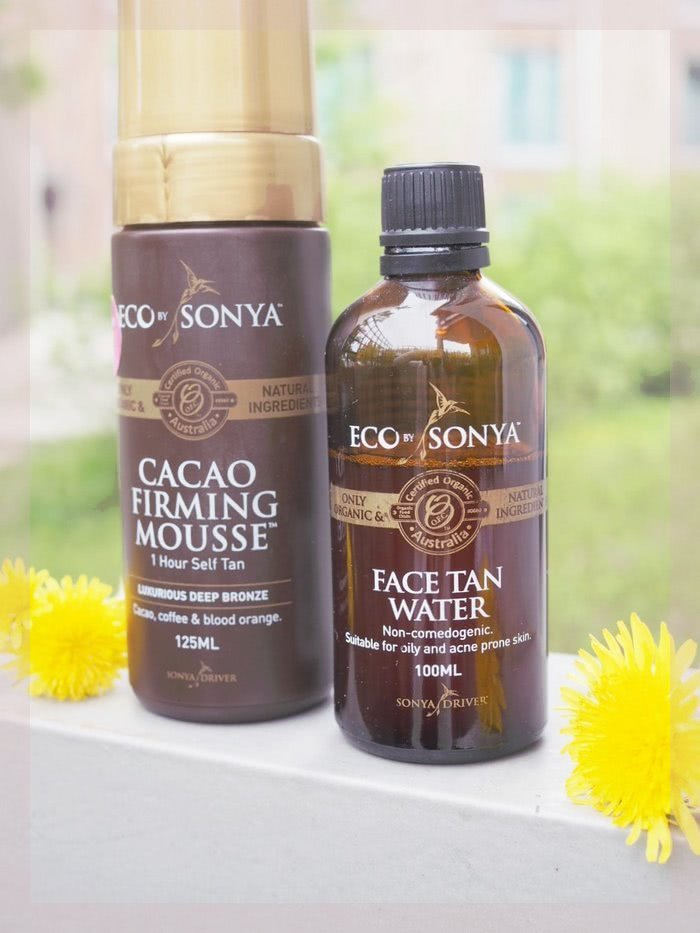 Eco By Sonya Firming Cacao Mousse and Face Tan Water Review
