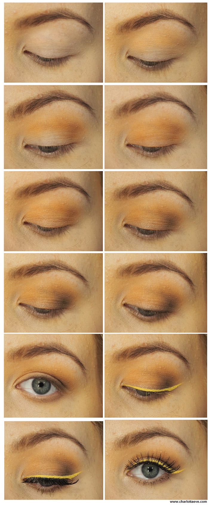 warm brown eye shadow tutorial
