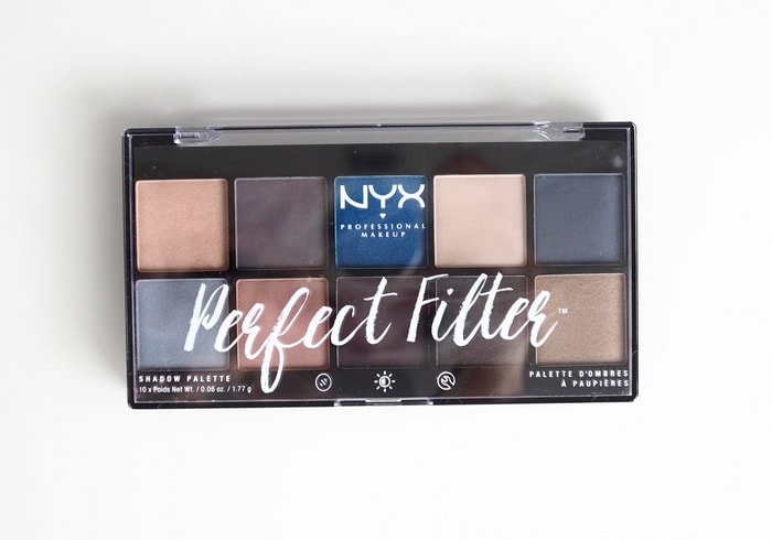 nyx perfect filter marine layers palette