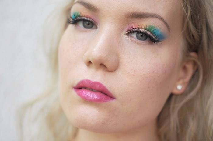 colorful makeup tutorial with pics