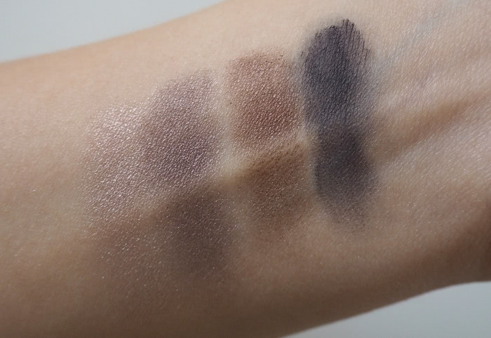isadora smoky velvets eye shadow swatch