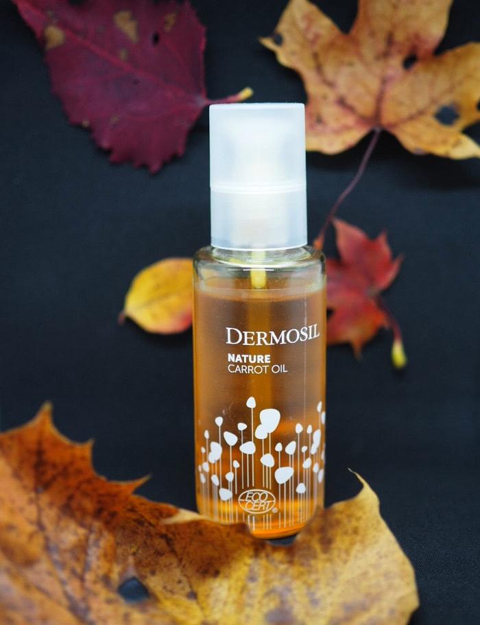 dermosil carrot oil