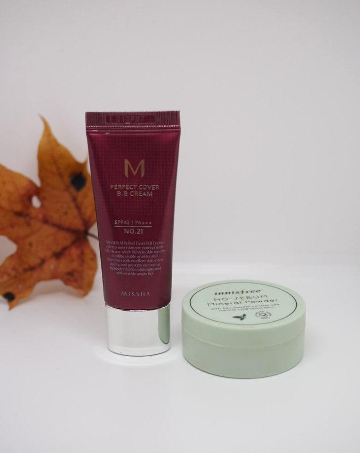 missha perfect cover combination skin