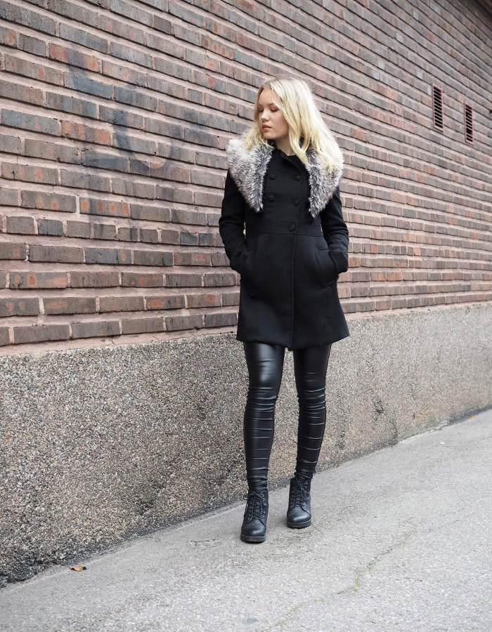 fall style leather