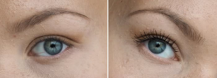 before after isadora mascara