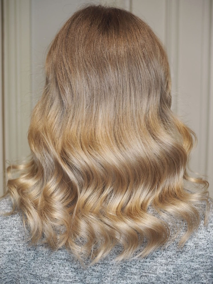 how to grow out my hair and maintain a beautiful colour
