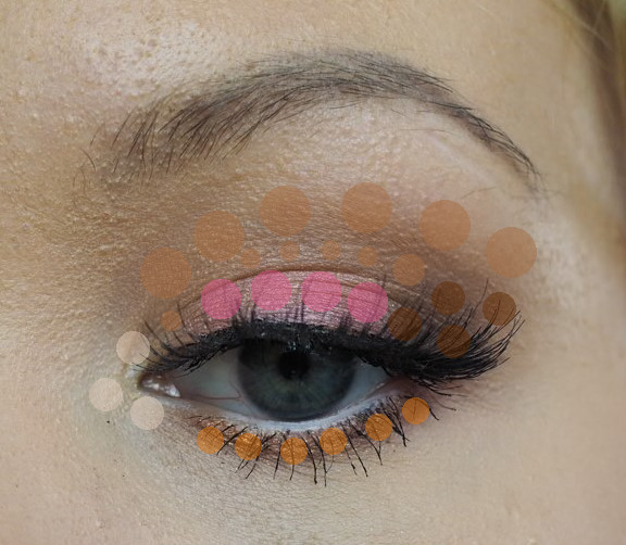 colour placement eyeshadow