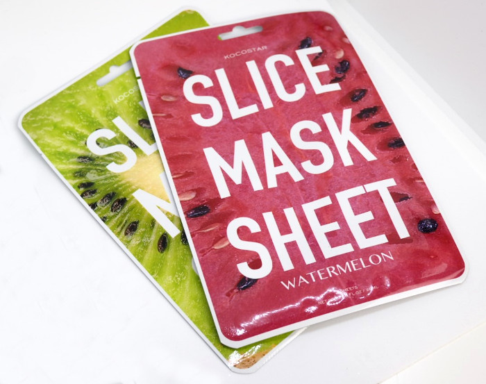 kocostar slice mask sheets