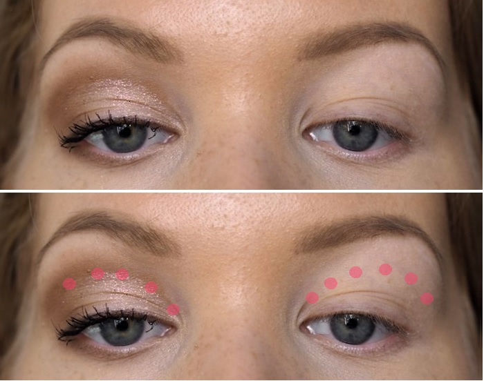 ultimate eyeshadow trick