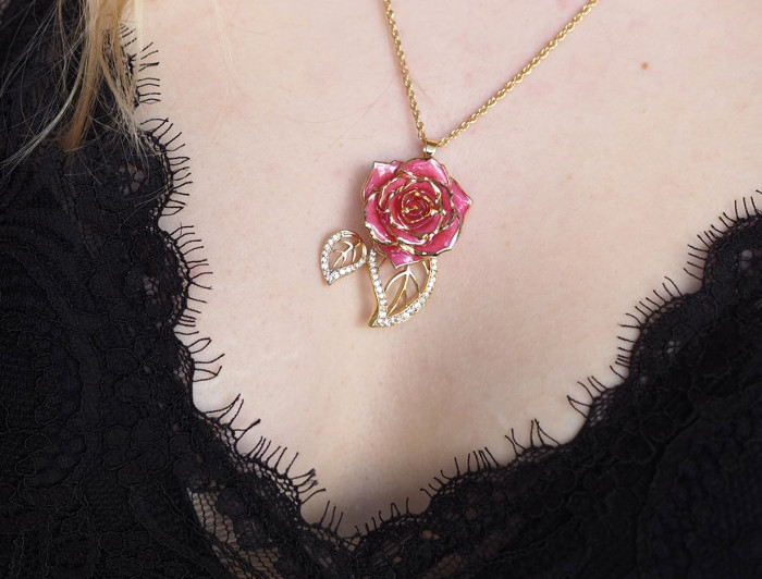 gold rose jewellery