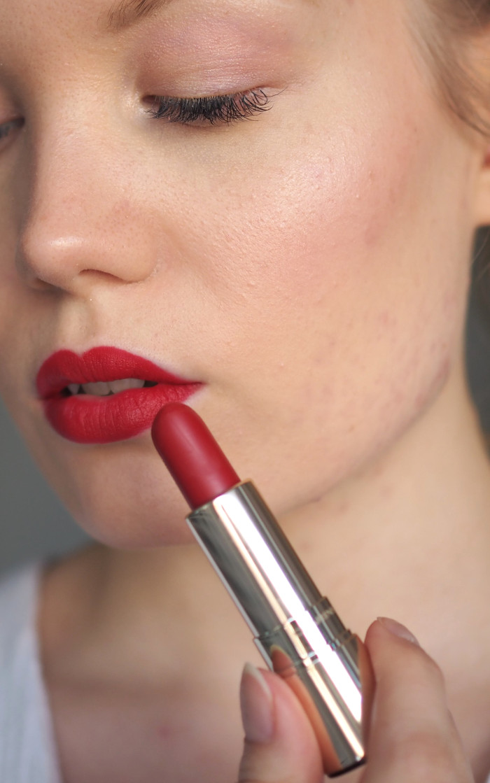 clarins velvet matte lipsticks