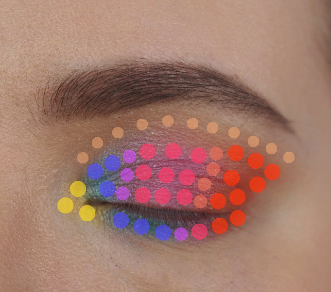 colorful eyeshadow tutorial