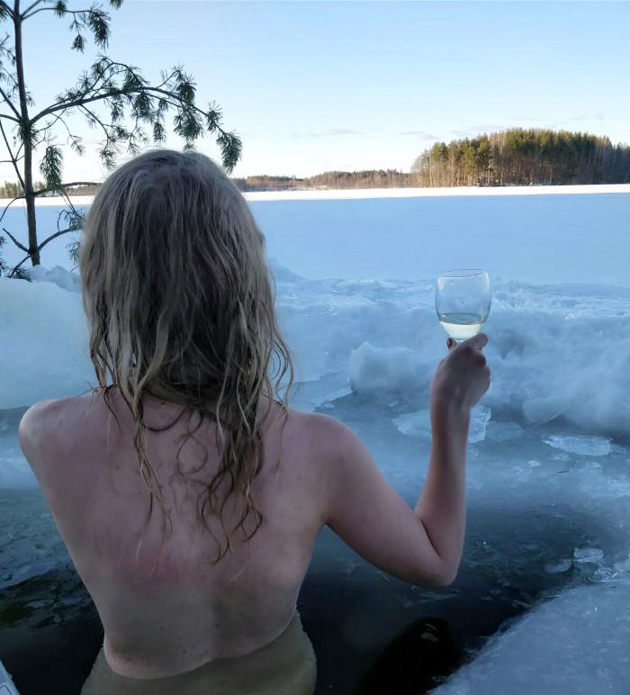 cottage ice hole