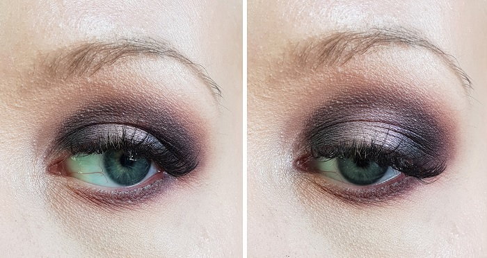 purple duochrome eyeshadow tutorial