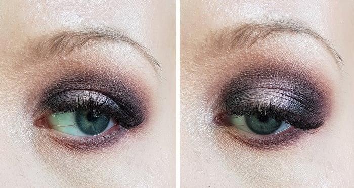 purple duochrome eyeshadow tutorial