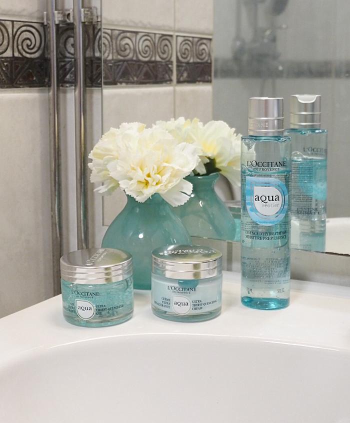 loccitane aqua reotier products
