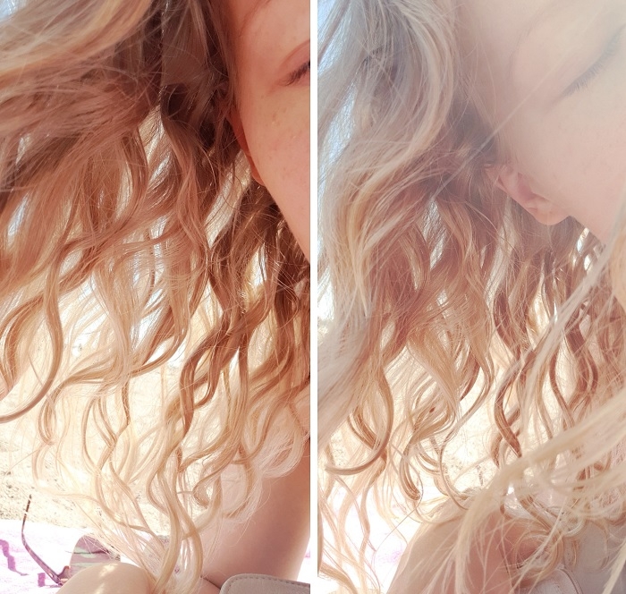 wavy curls type 2B 2C