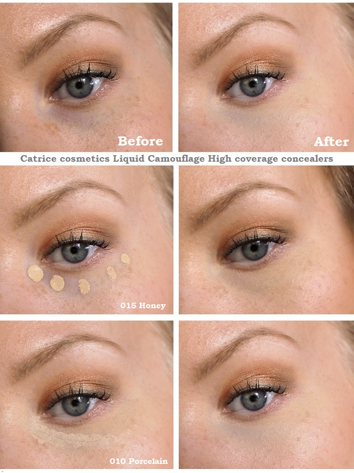 catrice concealers before after