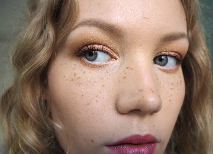 freckles with makeup