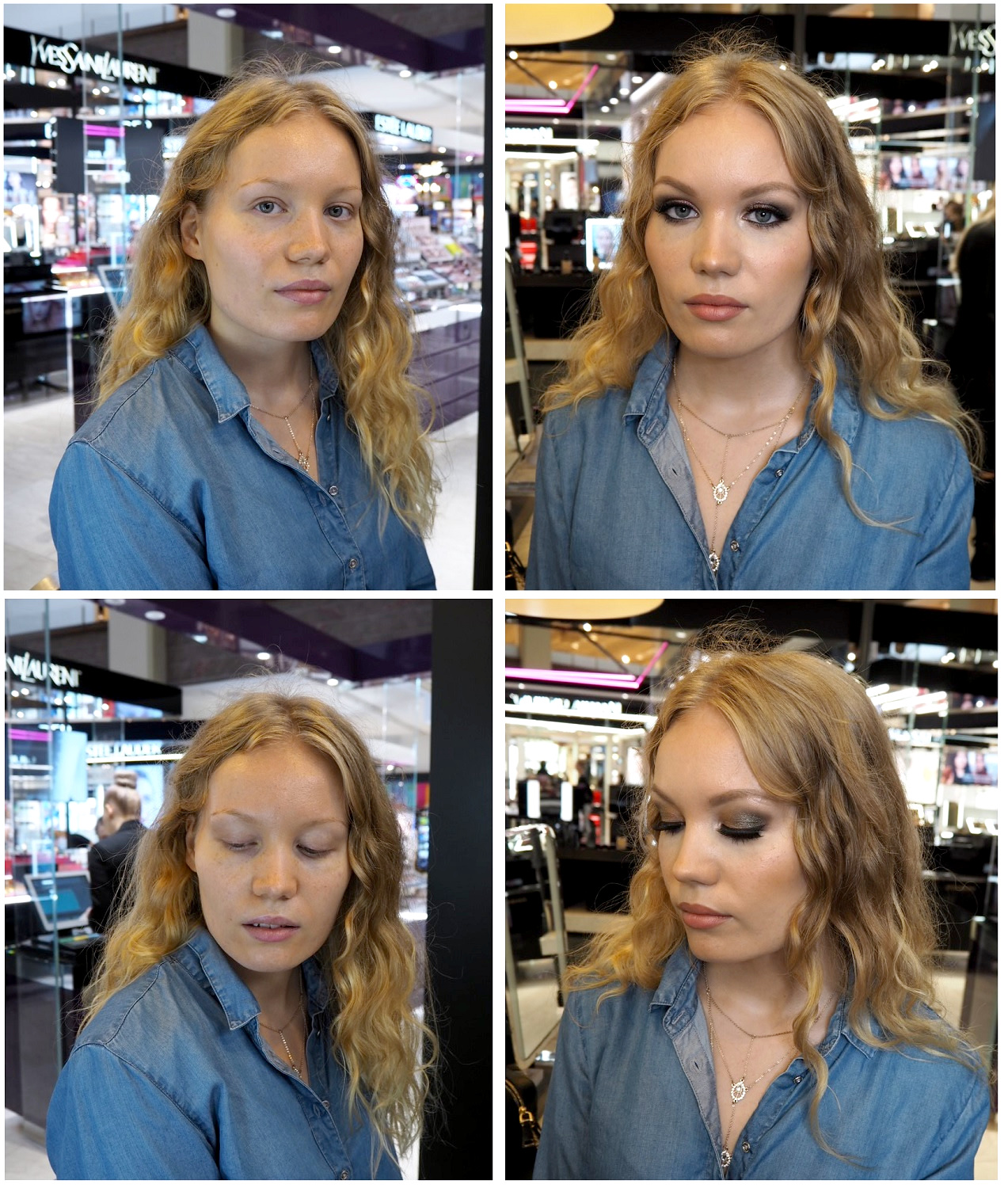 before after bobbi brown makeup