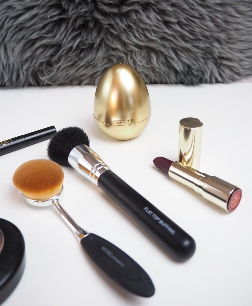 kicks brushes fall makeup