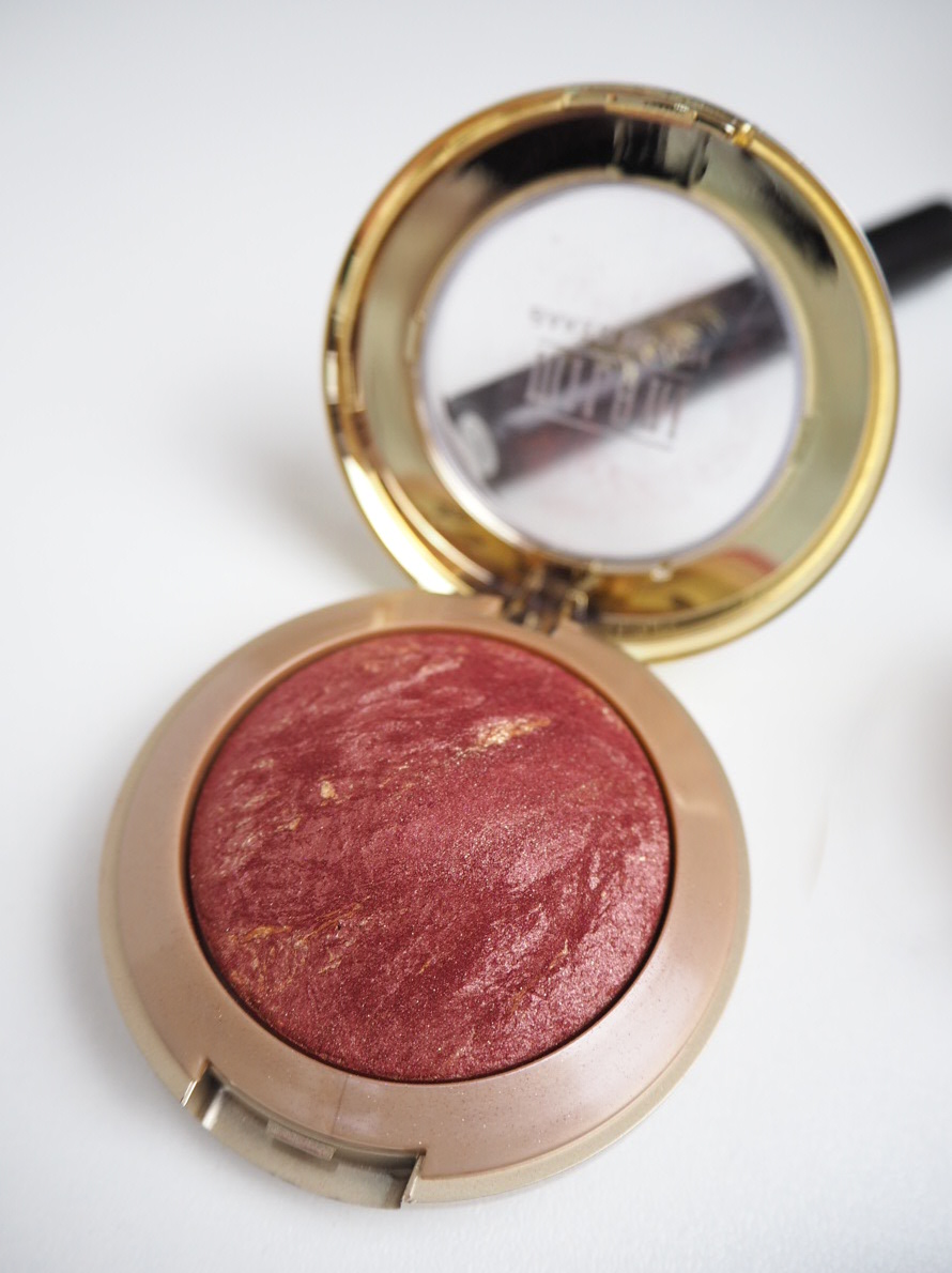 milani baked blush red vino