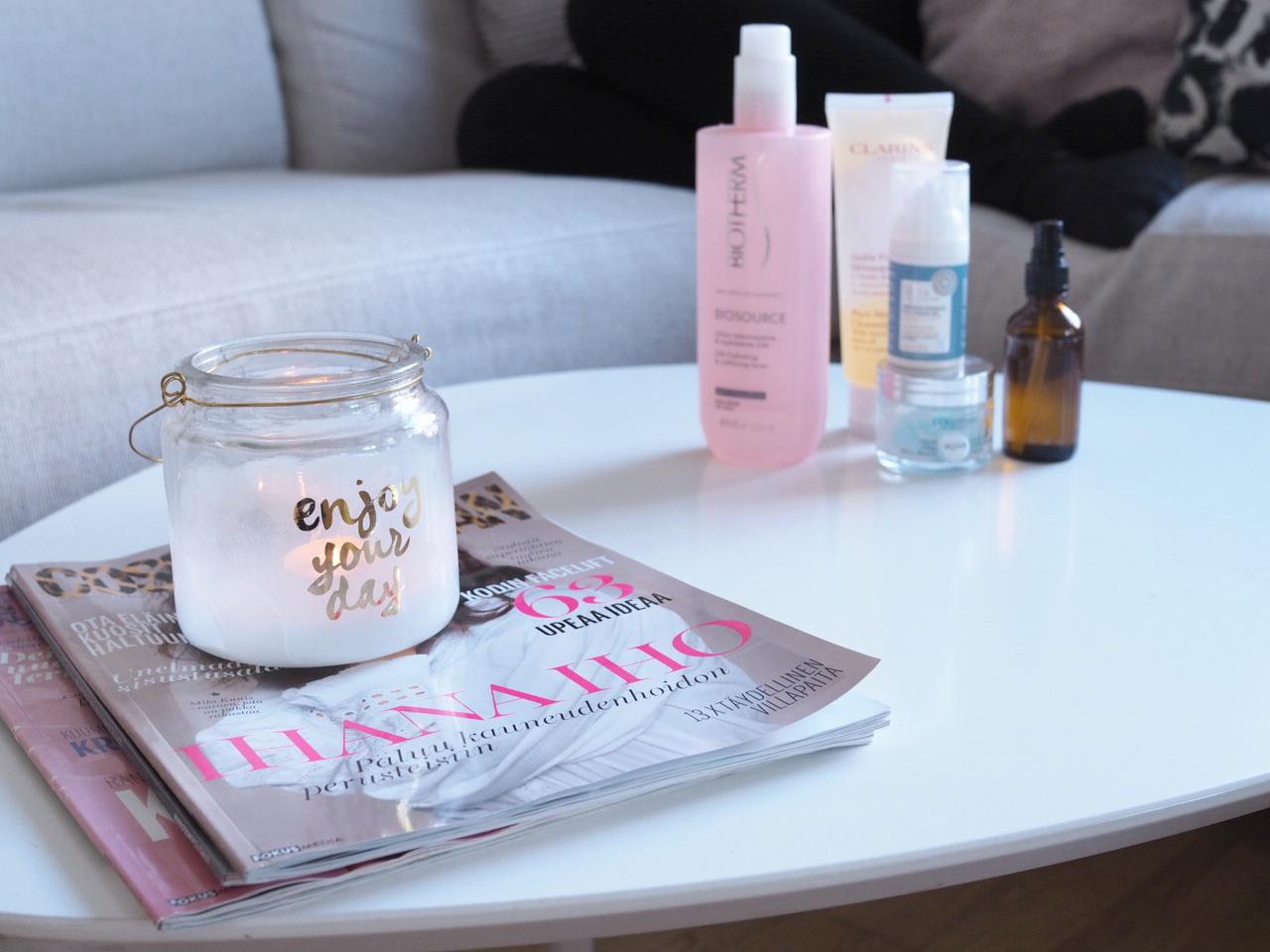 dry skin skincare routine