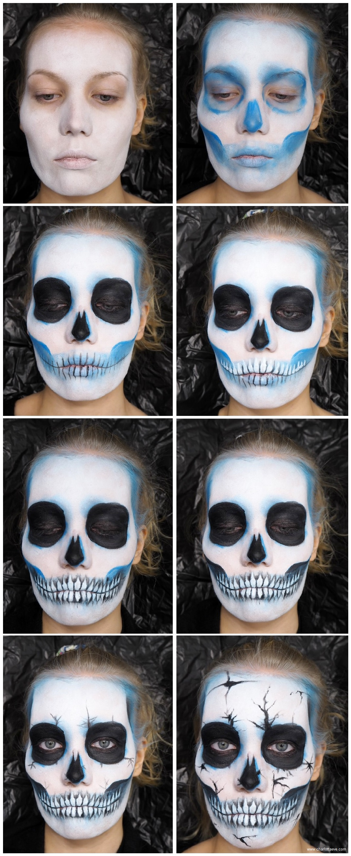 easy skull tutorial
