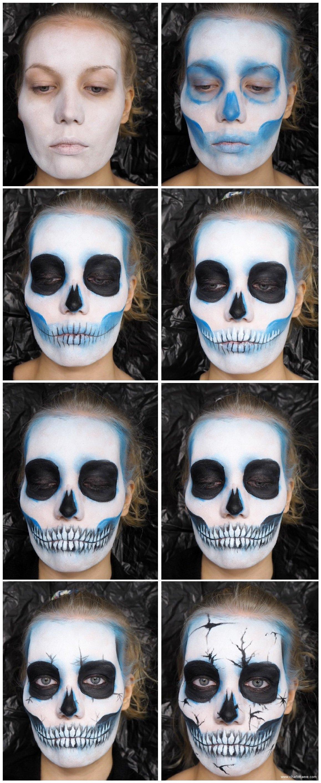 easy skull tutorial