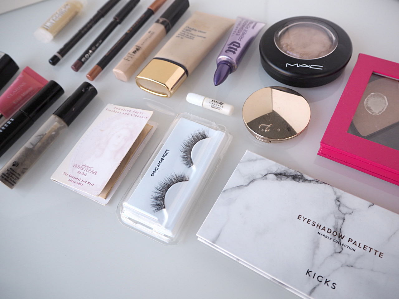 what makeup I use travelling