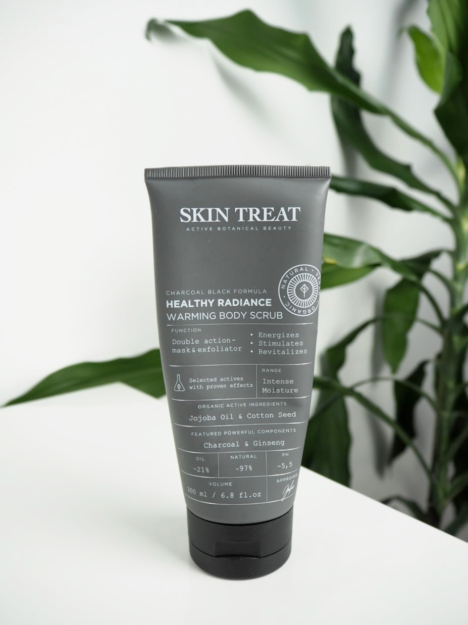 skin treat warming body scrub