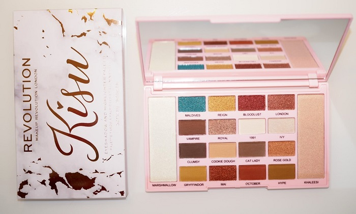 makeup revolution kisu palette