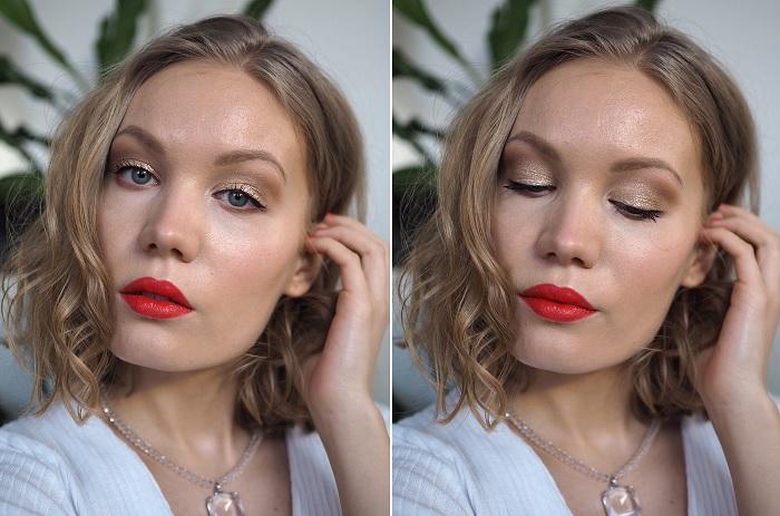 nyx glitter goals makeup