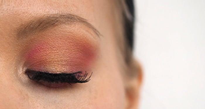 pink orange yellow sunset eyes