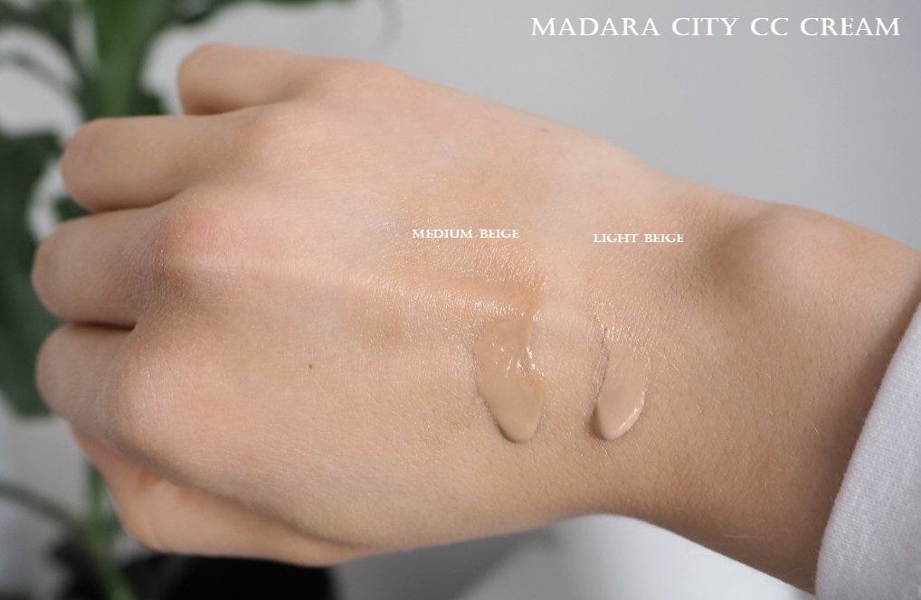 Madara City Cc Cream Light Beige Medium Beige Swatches
