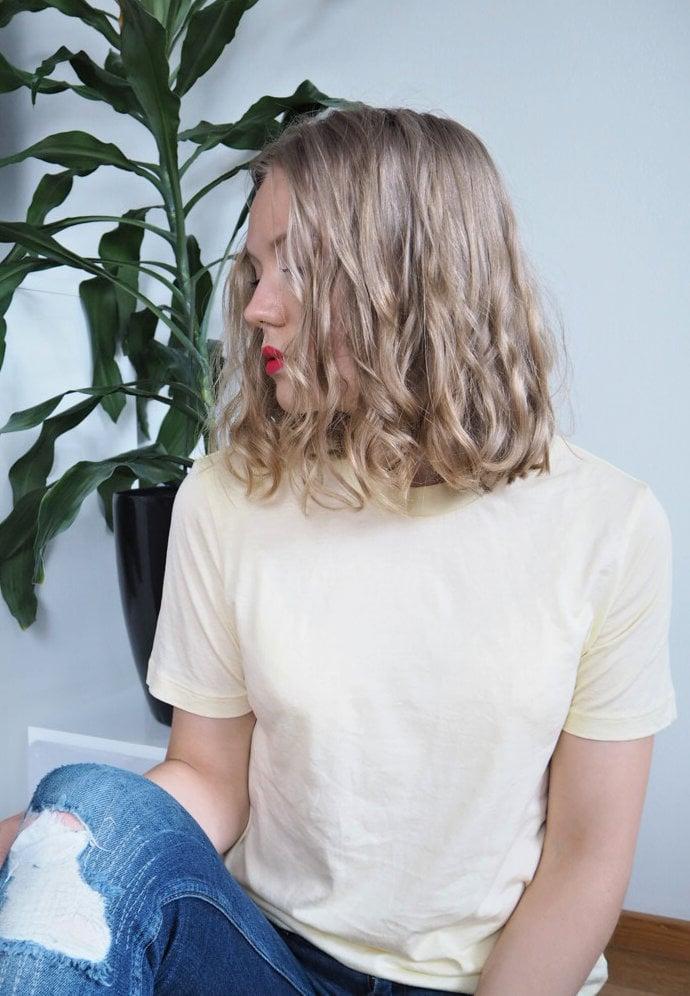 luonnonkihara curly girl metodi tulokset