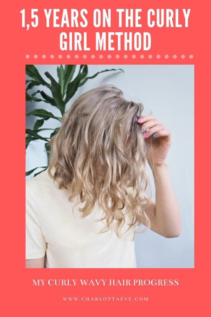 The Curly Girl Method - Hair Progress