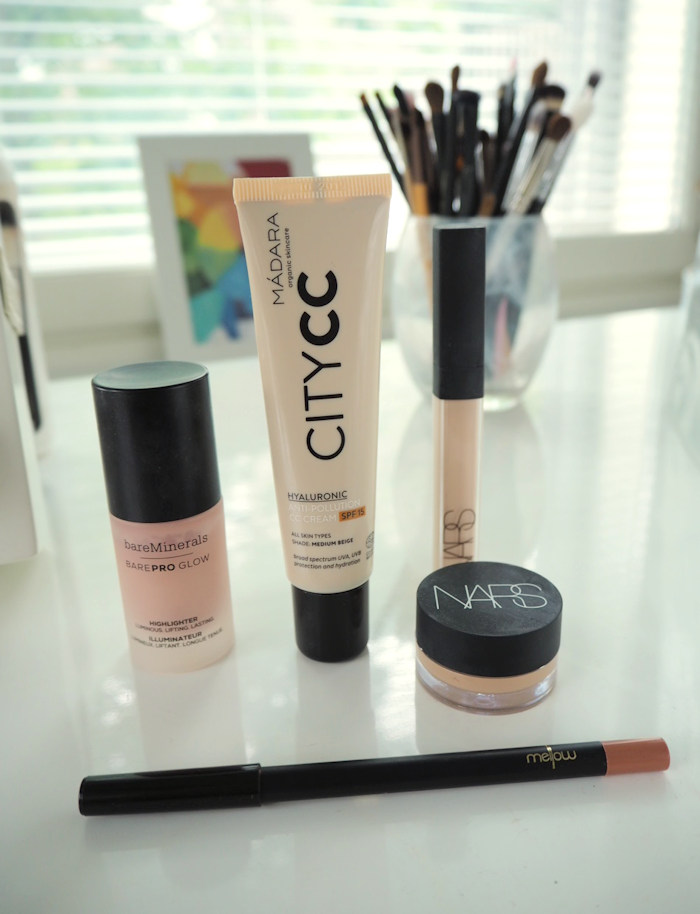 5 easy product makeup