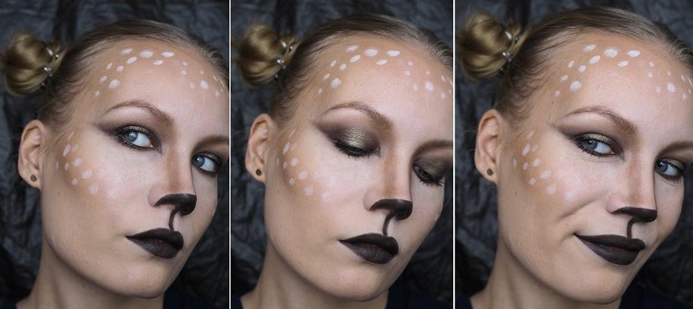 Halloween makeup tutorial: Oh Deer