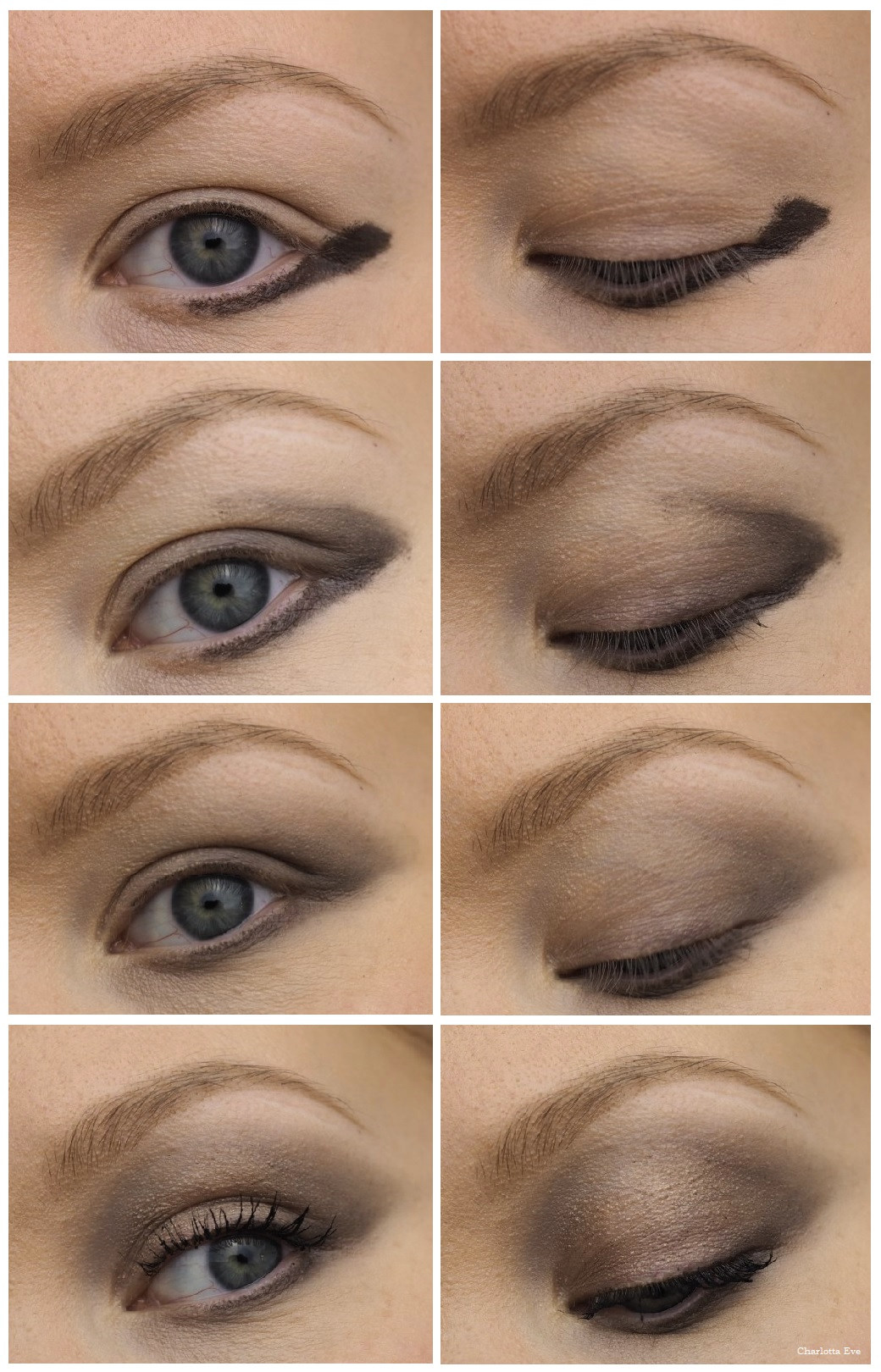 How to: makeup for downturned eyes - Charlotta Eve