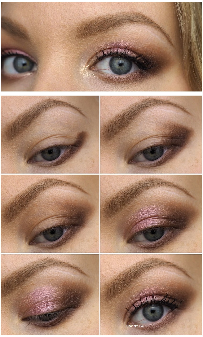 makeup for downturned eyes tutorial