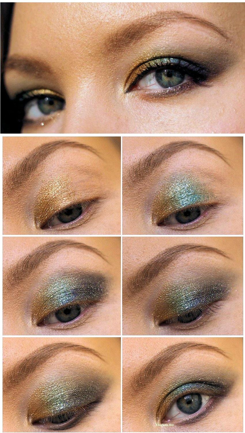 ysl sequin crush eyshadow tutorial makeup